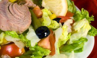 Salata ambalata cu TON